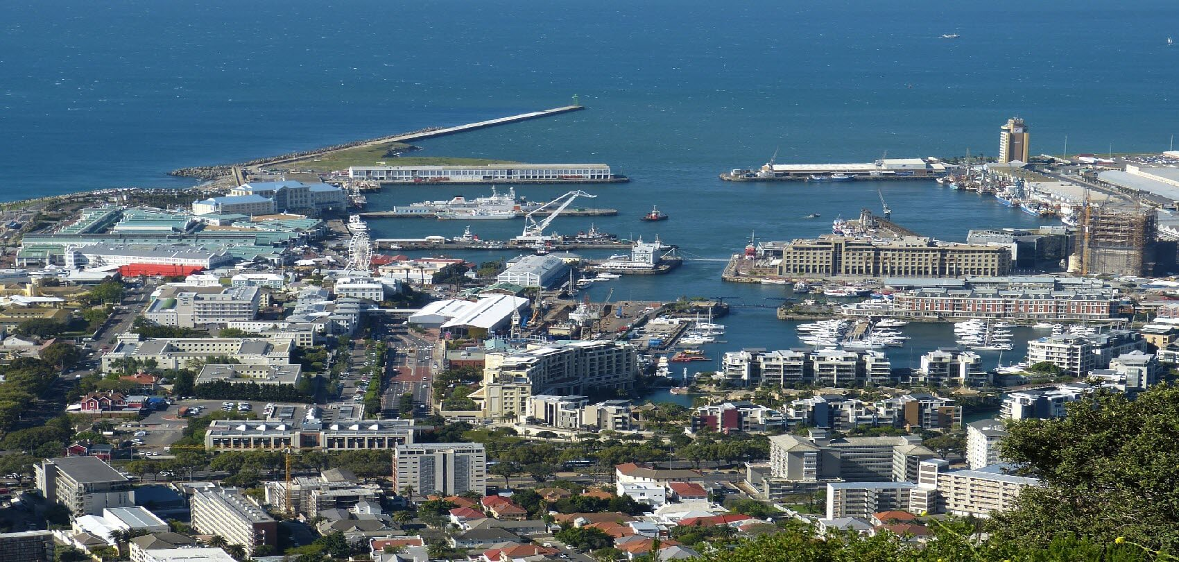 Port in Cape Town