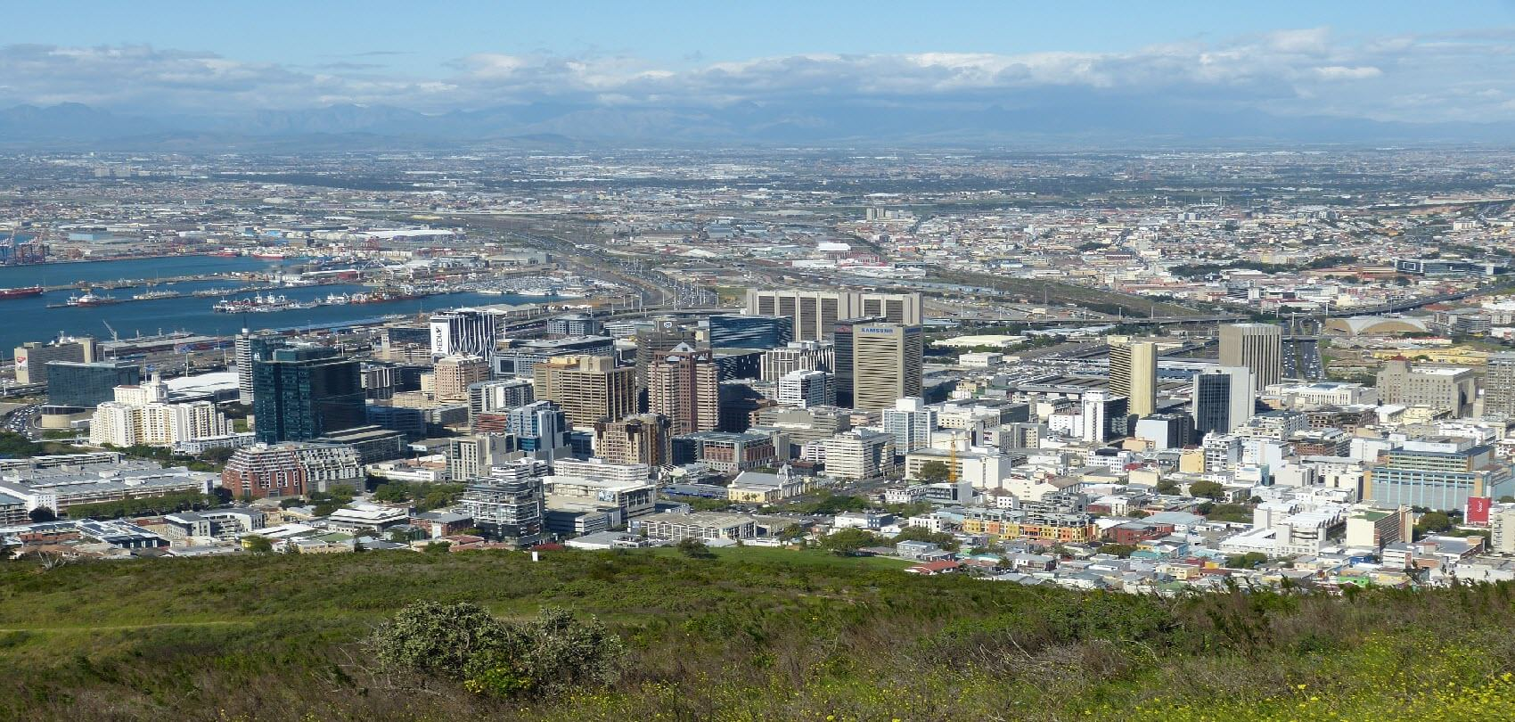 Distant View, Cape Town