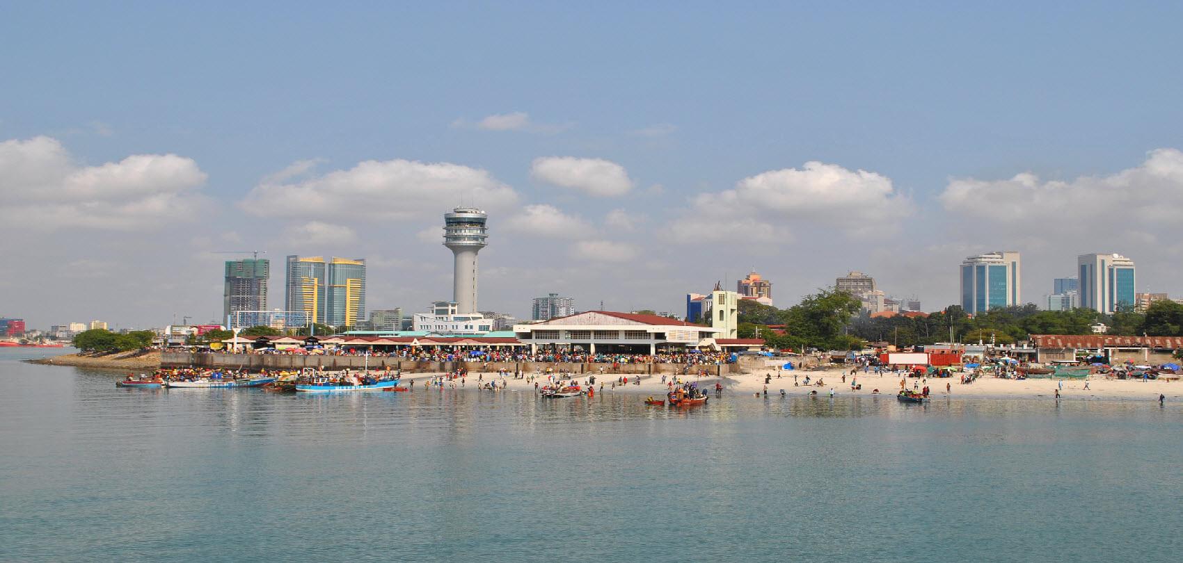 Port in Dar es Salaam
