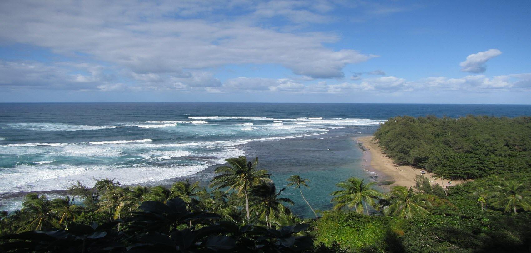 Ocean, Beach, Hawaii