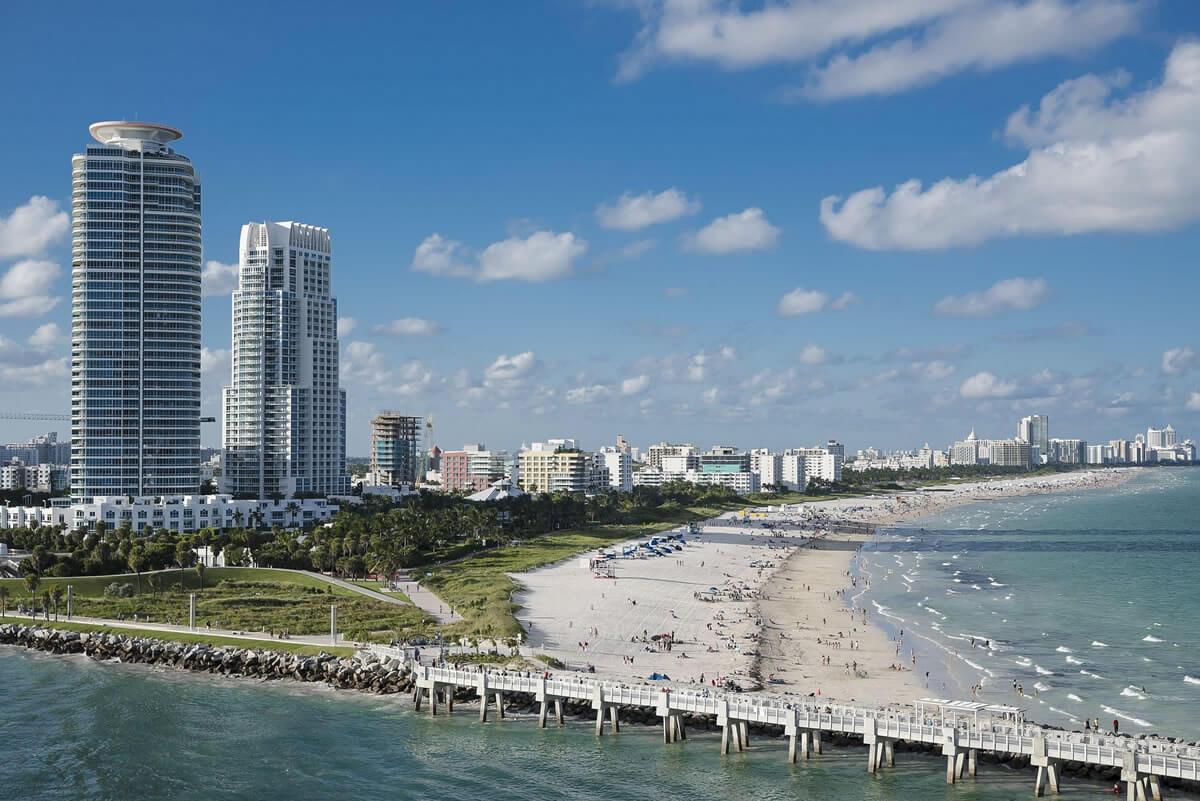 Miami location view
