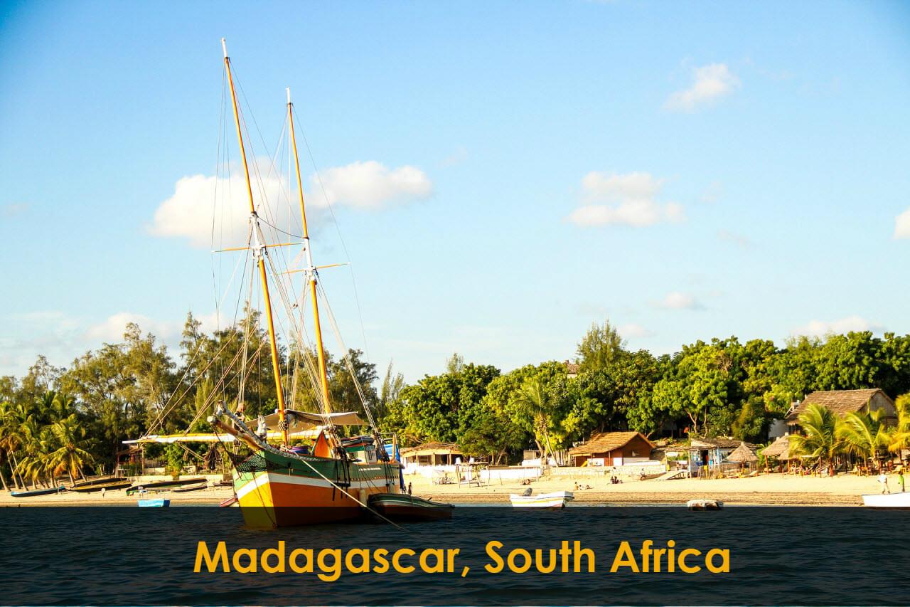Madagascar, South Africa