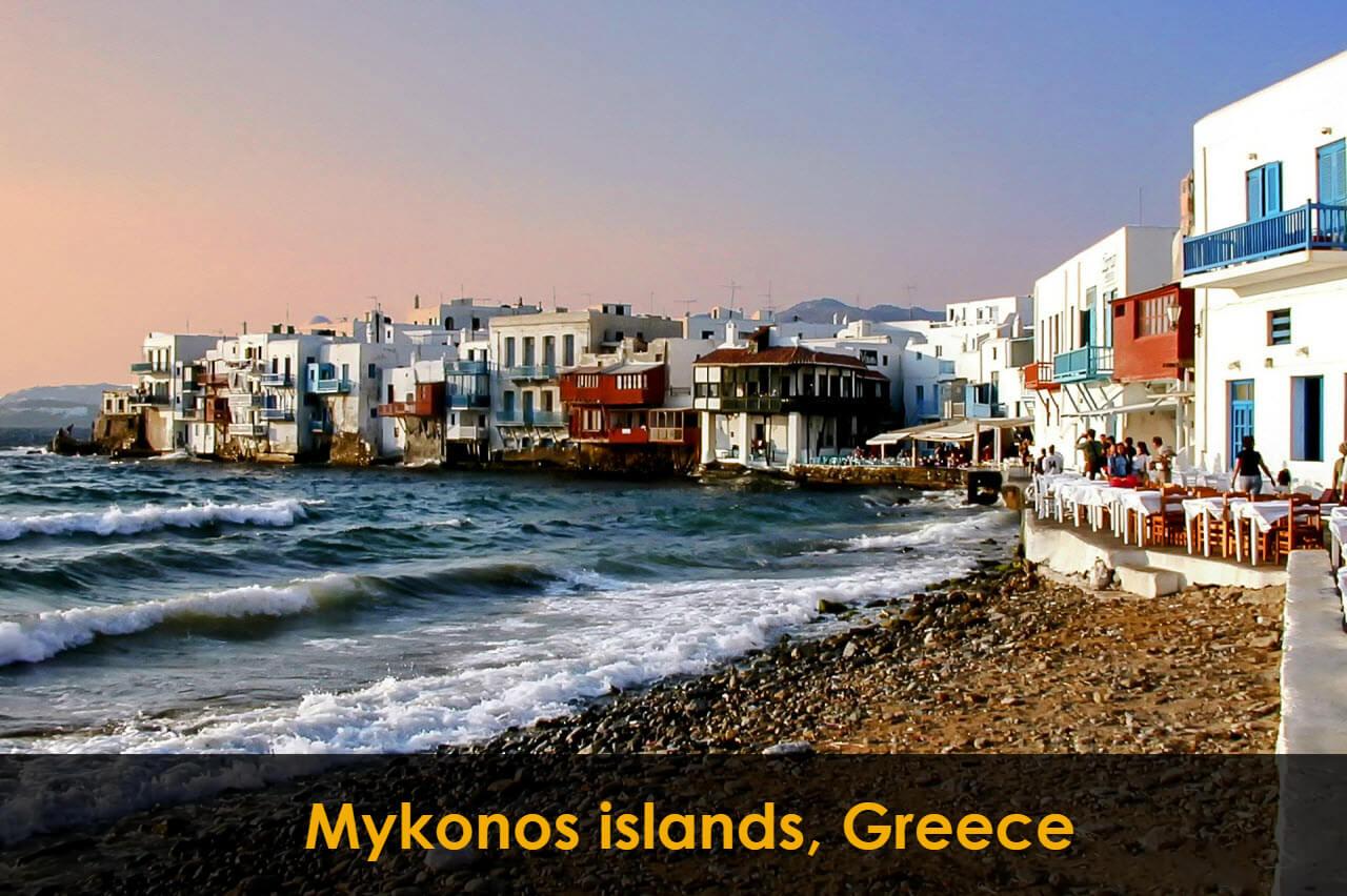 Mykonos islands, Greece