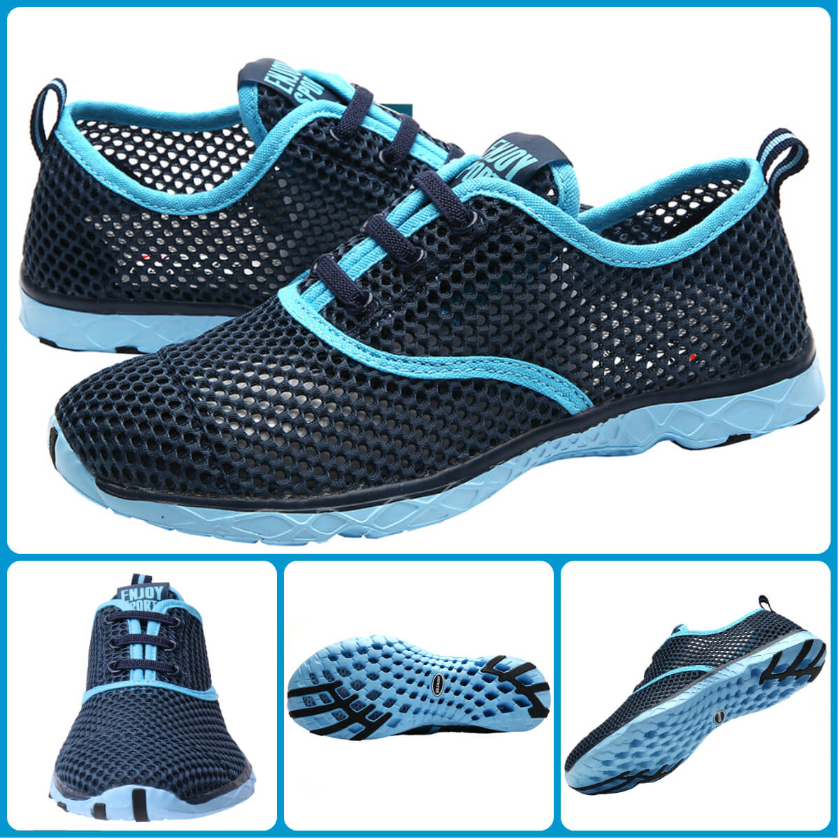 Aleader Women's Quick-drying Aqua Water Shoes