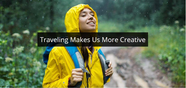 Travel Makes us More Creative
