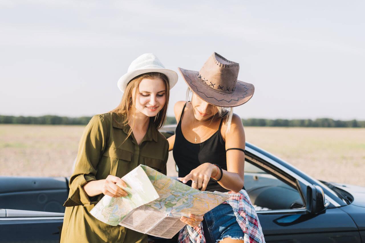 Women on a Road Trips