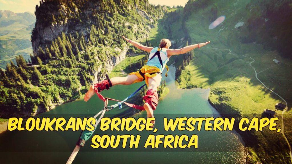 Bloukrans Bridge-Bungee Jumping