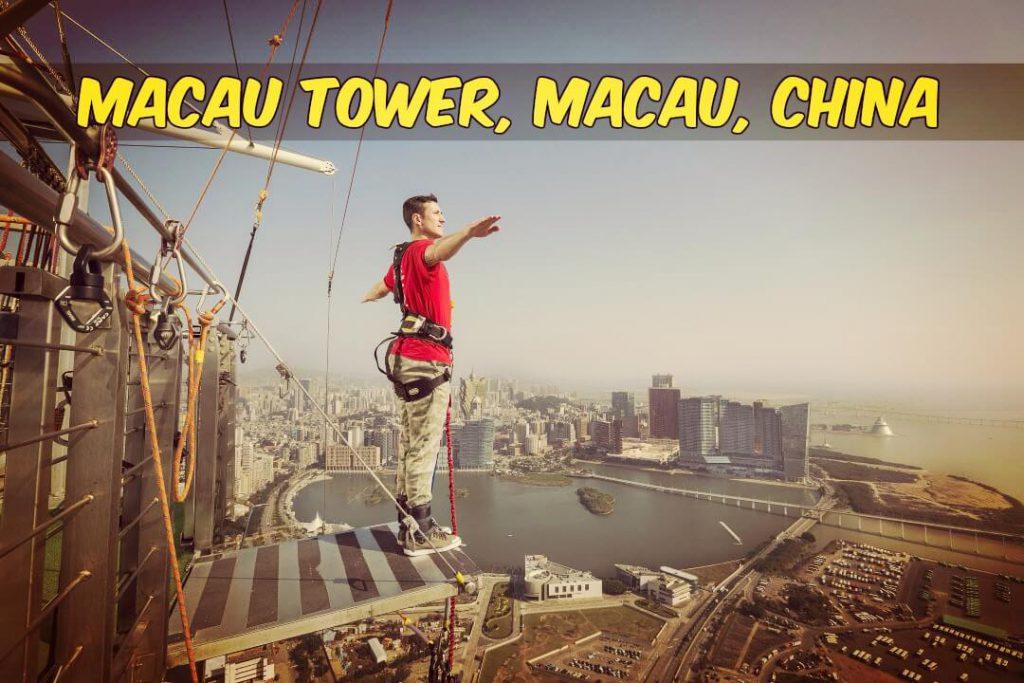 Macau Tower - Bungee Jumping