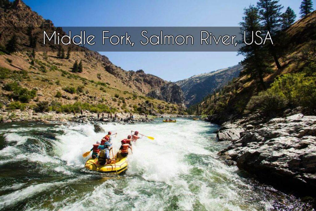 Middle Fork, Salmon River, USA