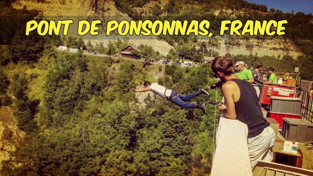 Pont de Ponsonnas- Bungee Jumping