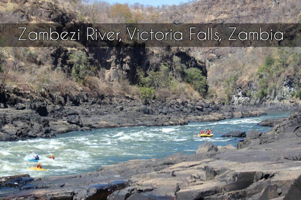 Zambezi River, Victoria Falls, Zambia