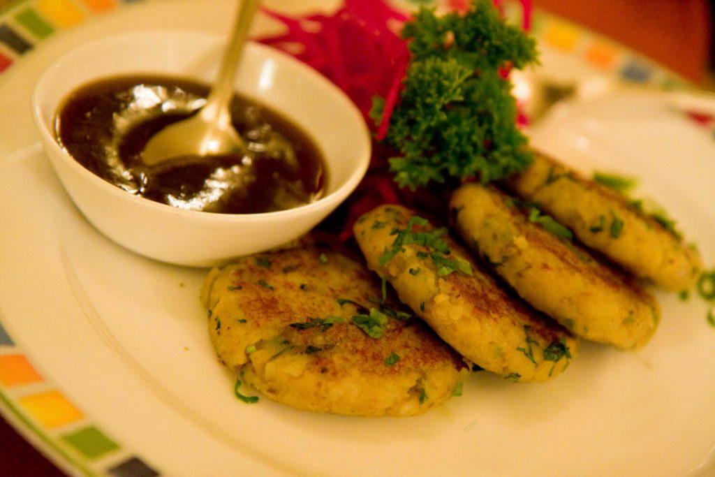 Delhi Food - Aloo Tikki