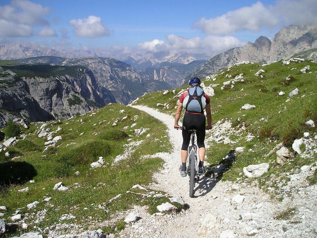 Mountain Biking at The Fjords, Norway