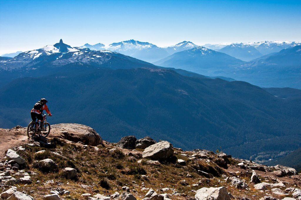 Mountain Biking at The Whistler, British Columbia