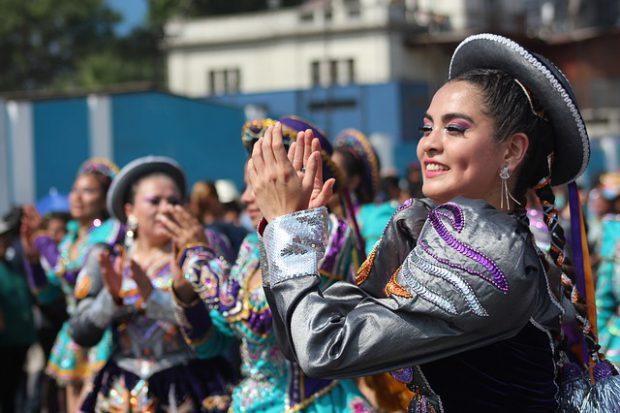 Cultural dance of Lima, Peru