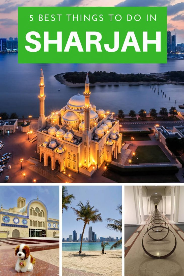 Pin- Top 5 Things to do in Sharjah