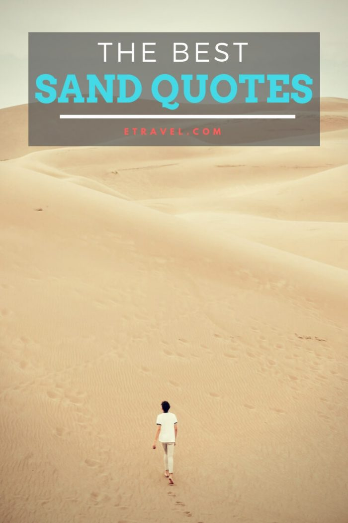 Pin- The Best Sand Quotes