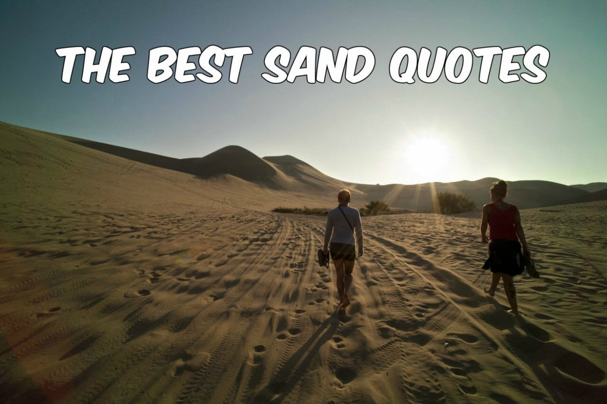 The Best Sand Quotes