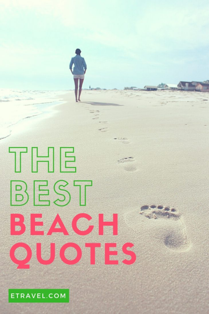 Pin- The Best Beach Quotes