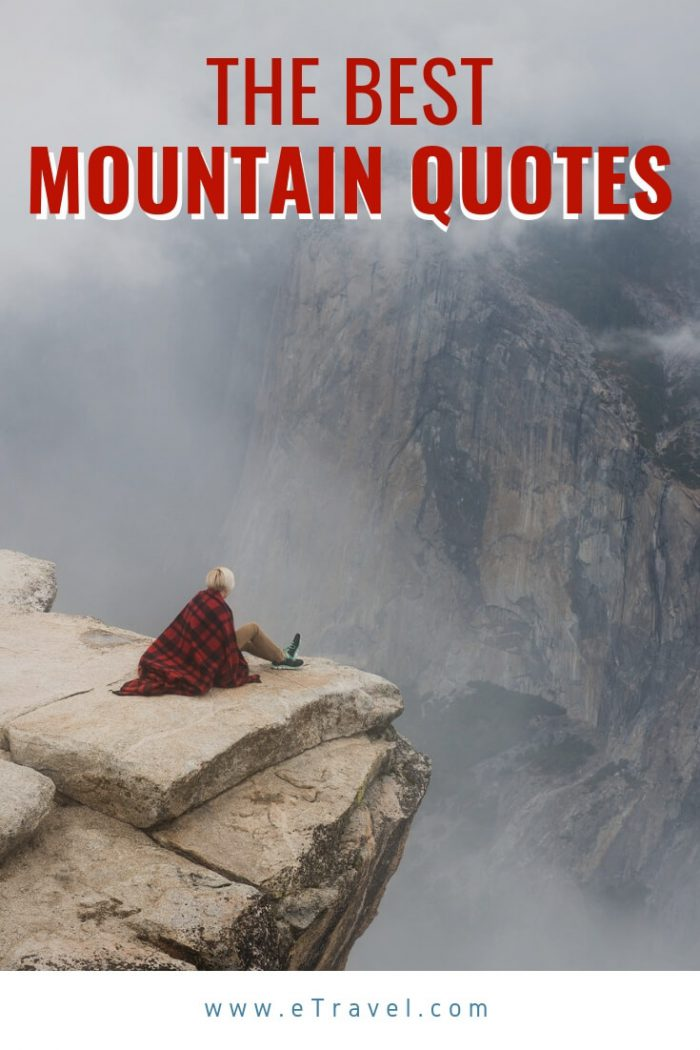 Pin- The Best Mountain Quotes