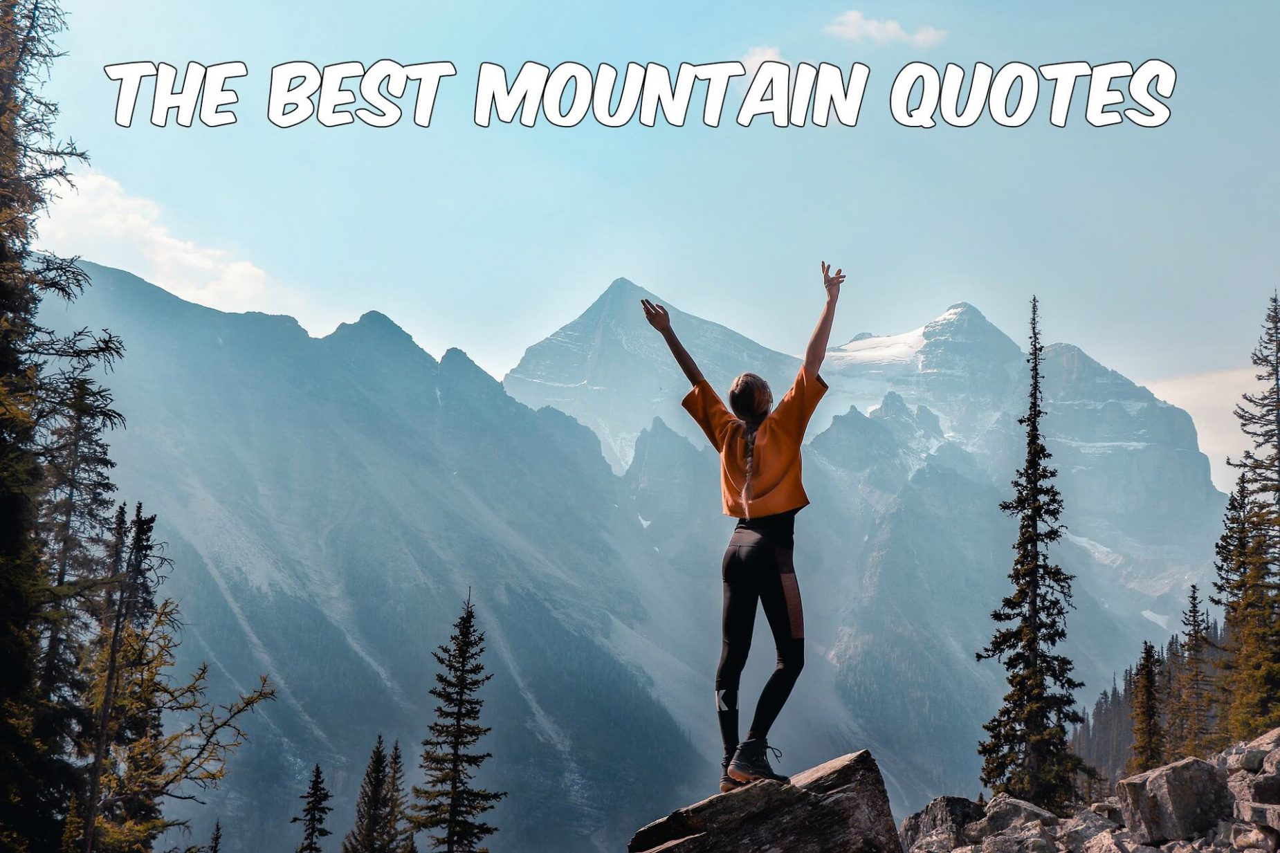 The Best Mountain Quotes
